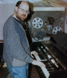 Norm Leete with MkII Mellotron