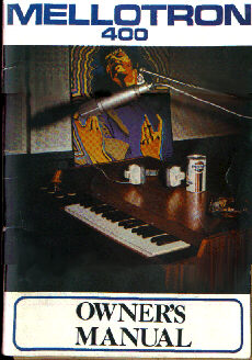 Original Owners Manual